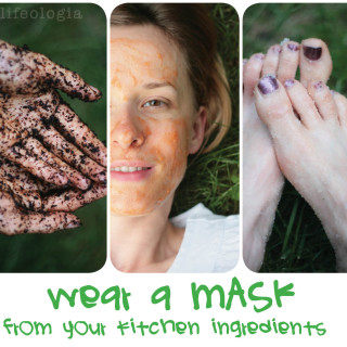 beauty week : natural homemade masks and scrubs