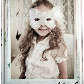 princess paper mask tutorial