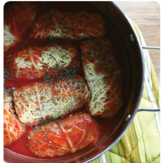 healthy recipes : vegan cabbage rolls