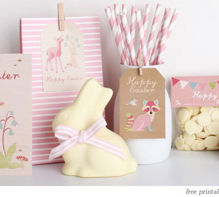 happy easter : free printables