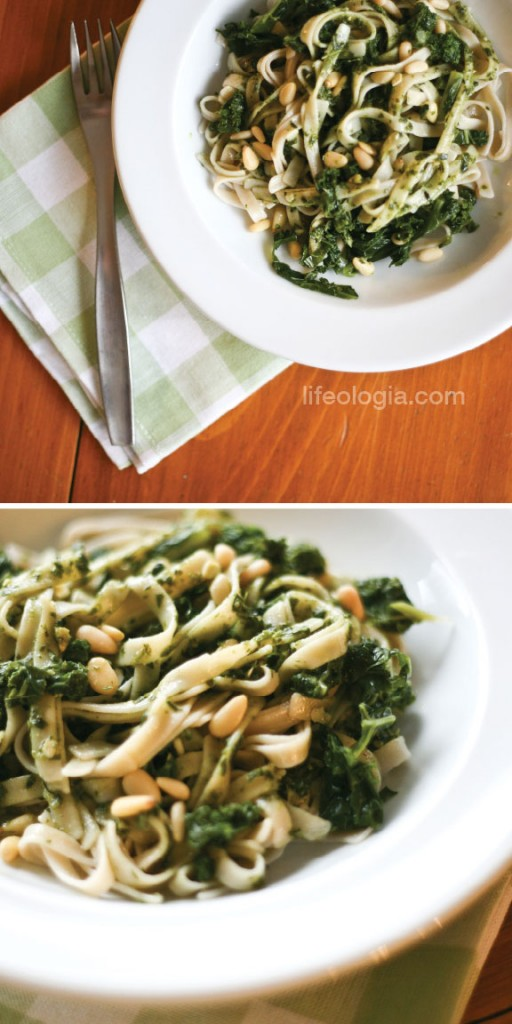 lifeologia-healthy-recipes-rice-linguini-with-kale-spinach-pesto-gluten-free-vegan2