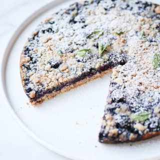 6 Ingredient Blueberry Blackberry Pie