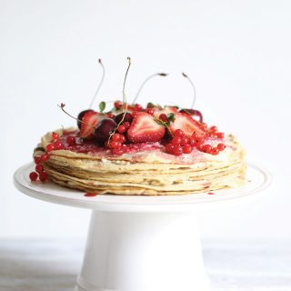 Easy Breakfast Crêpe Cake
