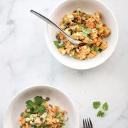 Healthy Sweet Potato Salad with Capers