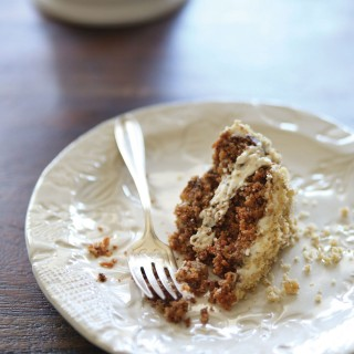 Healthy Carrot Cake (gluten free, vegan, refined sugar free)