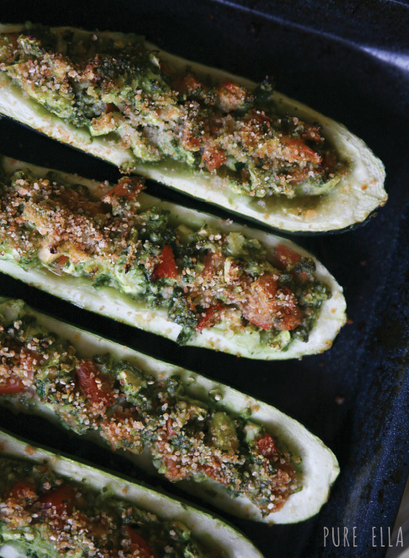 Kale-Pesto-Baked-Zucchini-2 vegan gluten-free photo recipe