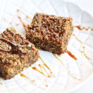 Superfood Healthy Pumpkin Breakfast Bars