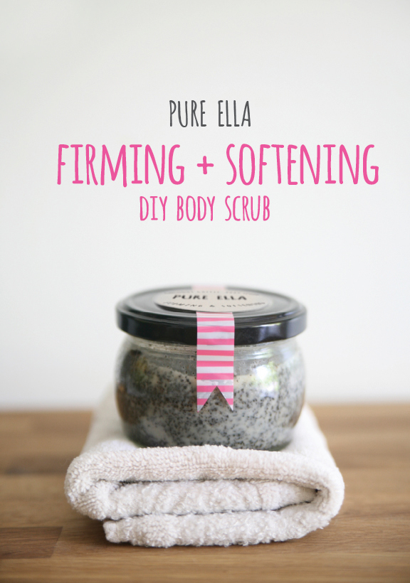 Diy Coffee Body Scrub Pinterest Softening Diy Body Scrub
