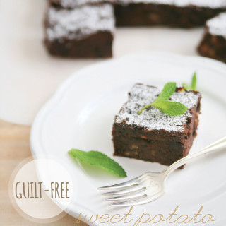 Guilt-free Sweet Potato Chocolate Brownies