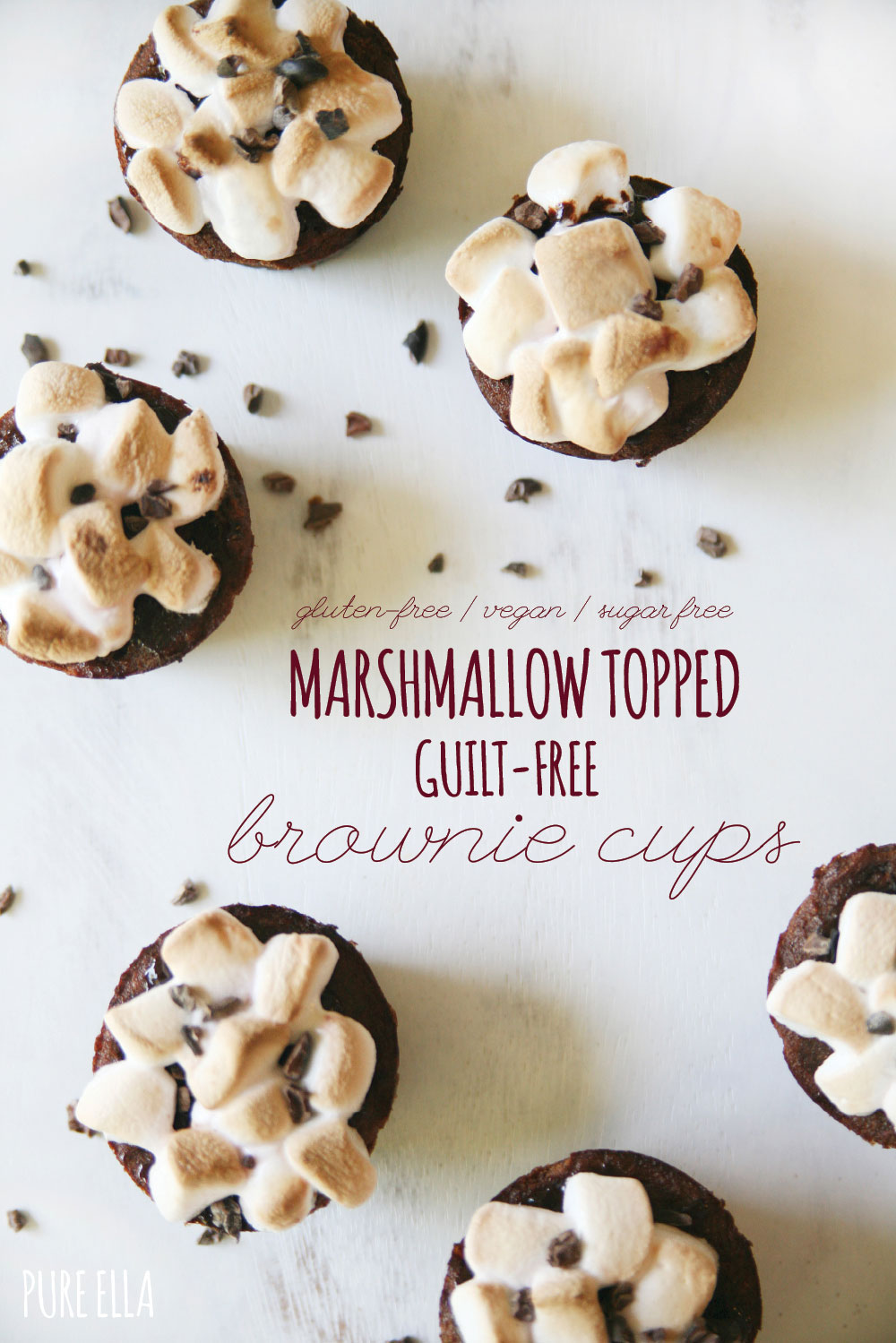 Marshmallow Topping Brownies Pure-ella-marshmallow-topped