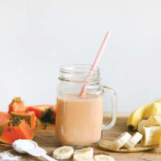 Banana + Papaya Calm Smoothie