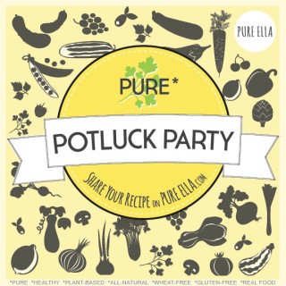 Pure Potluck Party : healthy recipes