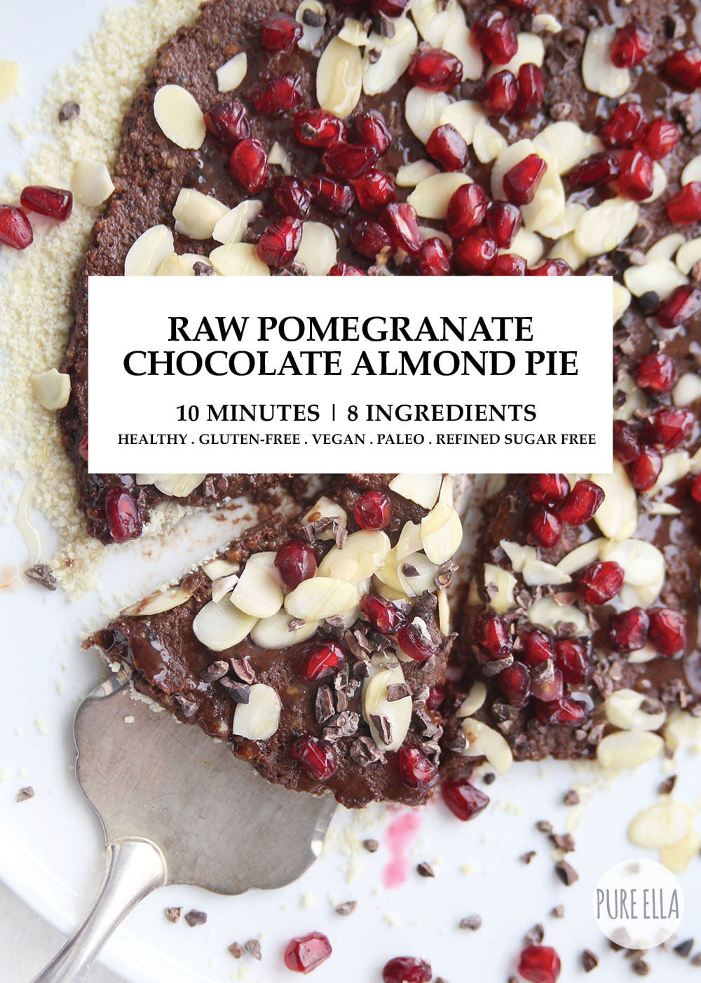 Pure-Ella-Raw-Pomegranate-Chocolate-Almond-Pie-gluten-free-vegan-paleo healthy
