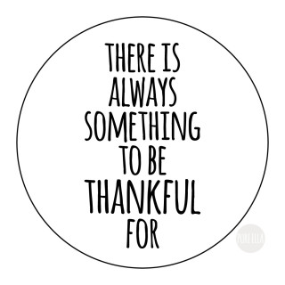 Monday Motivation : Be Thankful