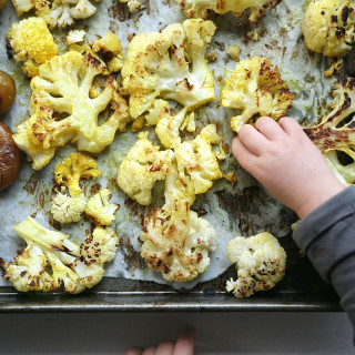 Turmeric + Black Pepper Roasted Cauliflower