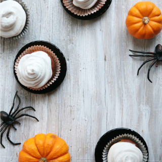 'No Tricks' Vanilla Cupcakes : gluten free vegan, allergy friendly