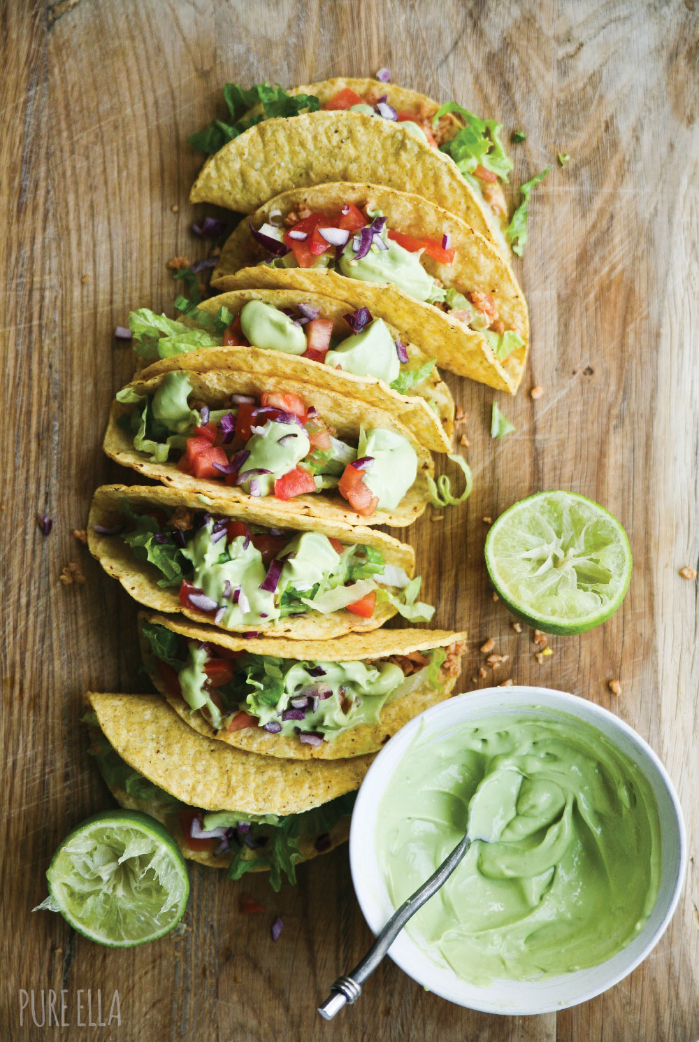 Pure-Ella-gluten-free-and-vegan-Veggie-Protein-Tacos-with-avocado-lime-cream2