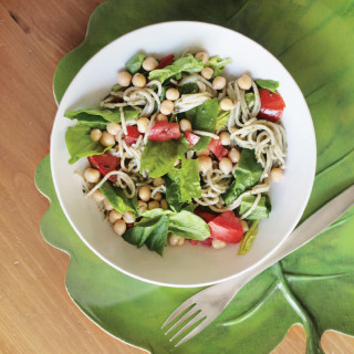 Spring Pasta Salad with Easy Pesto