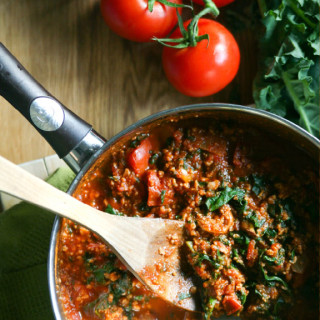 Meaty-but Meatless Best Spaghetti Sauce