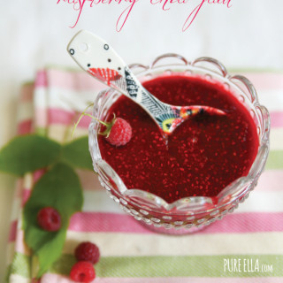 Raspberry Chia Jam – the most delicious and healthiest jam ever!