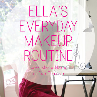 Ella's Everyday Makeup Routine with Marie Natie