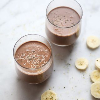 Salted Chocolate Hemp Smoothie