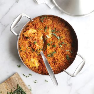 Shredded Carrot Fish Casserole