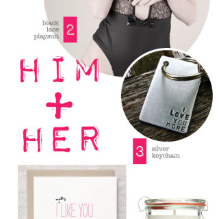 Valentine's Day Gift Guide ♥ Him + Her