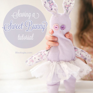 Sewing a Sweet Bunny – tutorial
