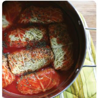 healthy recipes : vegan cabbage rolls