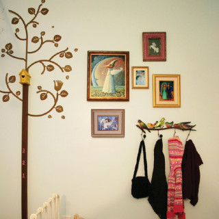 diy : grow like a tree {growth chart tutorial}