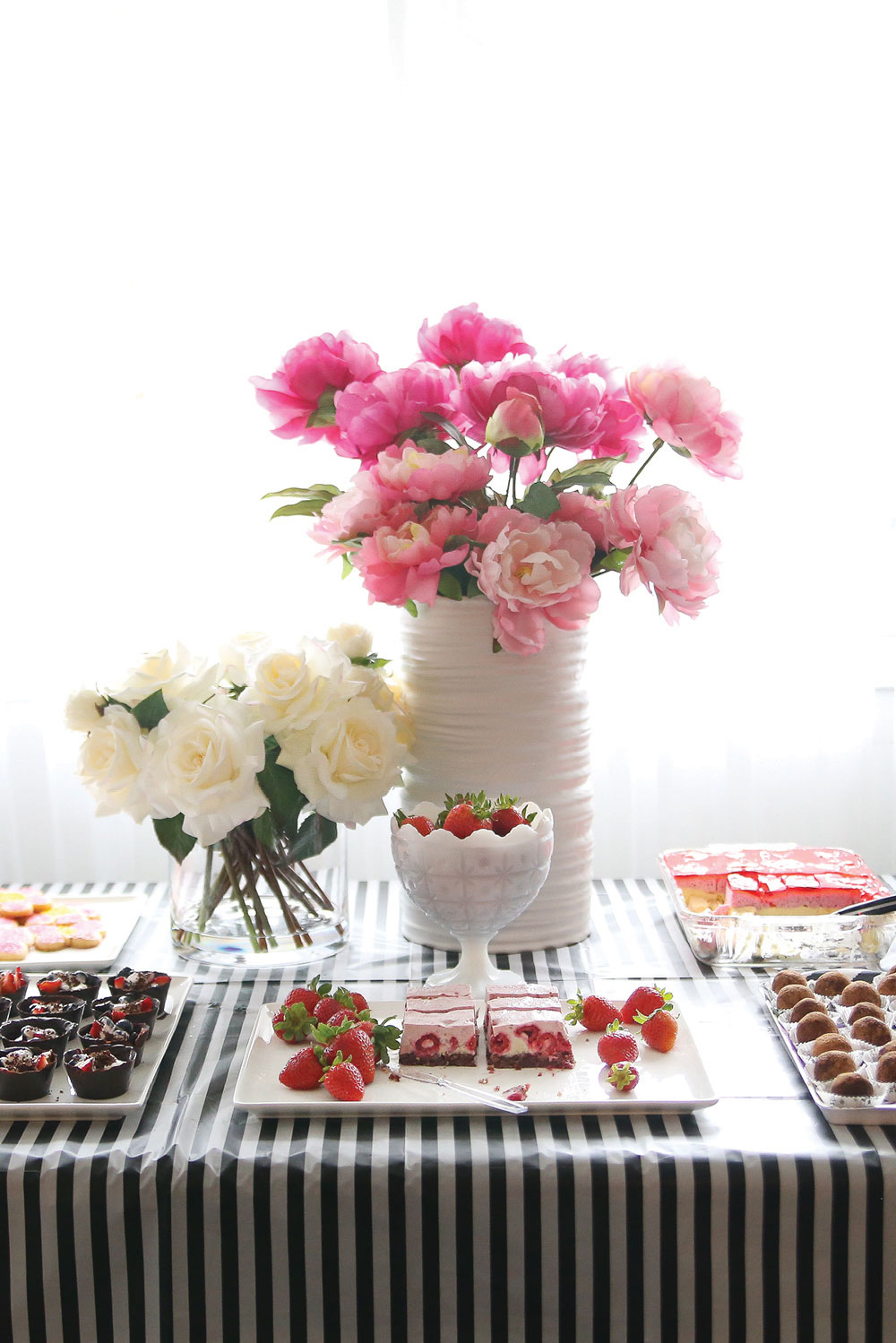 fbaae3542b2f Chic Garden Bridal Shower Brunch Party (for my little sister) - Pure ...