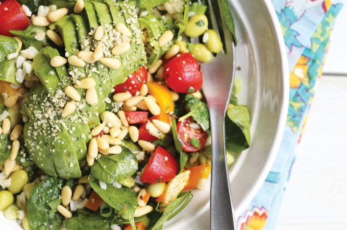 Ella-Leche-Pure-Ella-AVOCADO-Spinach-Salad-3