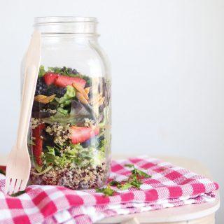 Quinoa Summer Salad in a Jar