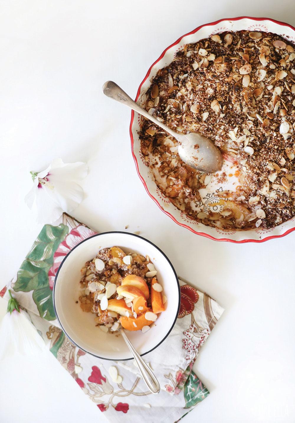 Grain-Free-Peach-Apricot-Crisp-Crumble-Pure-Ella-Leche7