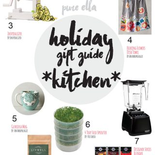 Holiday Gift Guide 2016 : Kitchen