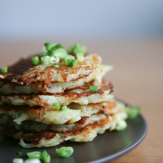 Potato & Parsnip Healthy Latkes