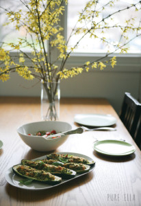 Kale-Pesto-Baked-Zucchini-5 vegan gluten free recipe photo