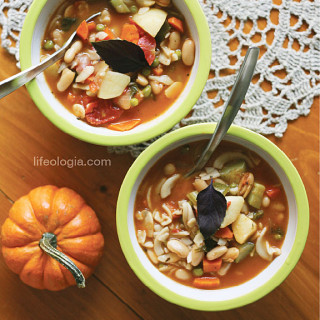 hearty minestrone soup – vegan and gluten free
