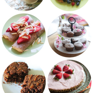 Mother's Day Menu : Sweet & Savoury Recipes
