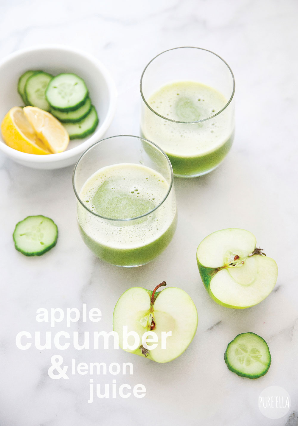 Cleansing Cucumber Lemonade foto
