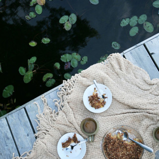 Easy Cinnamon & Ground Clove Apple Crumble : gluten-free vegan