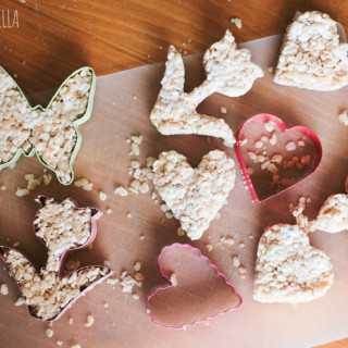 Healthy Rice Crispies Treats : all-natural, gluten-free and vegan