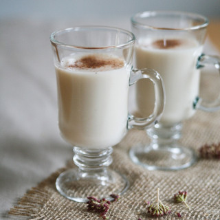 Spiced Cinnamon Vegan Egg Nog