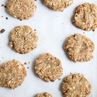 Superfood Healthy Breakfast Cookies : protein and omega 3 rich healthy snacks