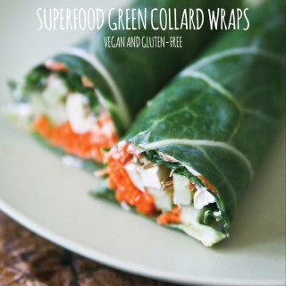 Superfood Green Collard Wraps