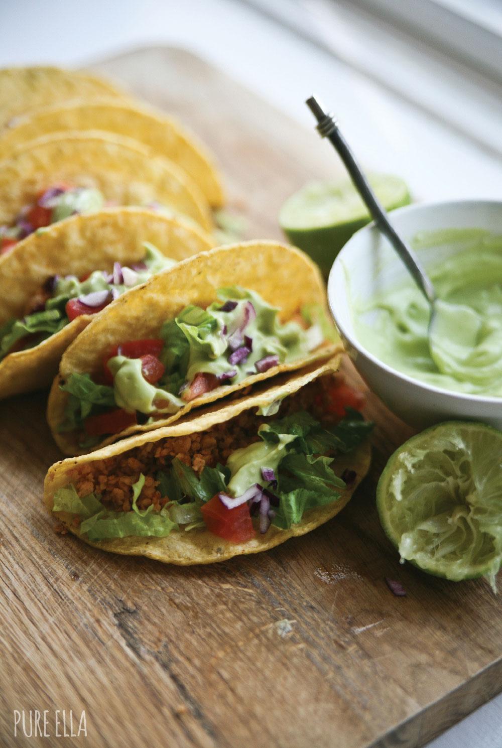 Pure-Ella-gluten-free-and-vegan-Veggie-Protein-Tacos-with-avocado-lime-cream3