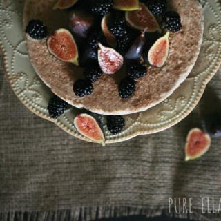 Raw Classic Vanilla Cheesecake : no-bake, vegan, gluten-free, paleo, refined sugar free