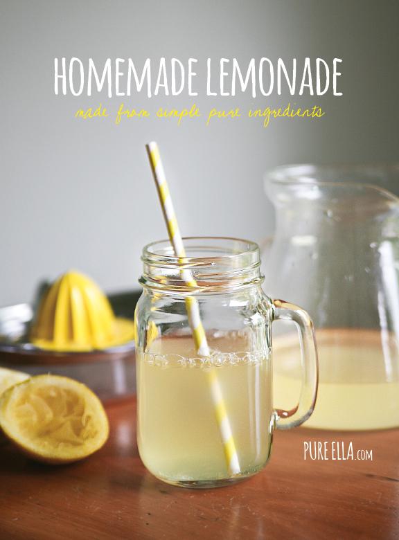 Homemade Lemonade - Pure Ella