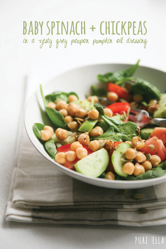 Pure-Ella_-Ella-Leche-baby-spinach-and-chicpeas-with-zesty-grey-poupon-pumpkin-oil-dressing-recipe-main